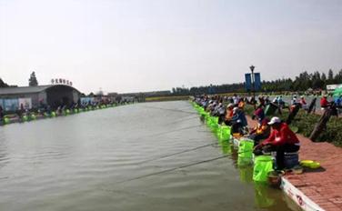 """第三届全国老年人体育健身大会""""千龙湖杯""""钓鱼交流活动举行"""