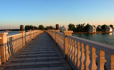 千龙湖风景实拍