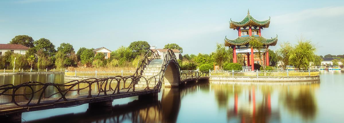 千龙湖美景